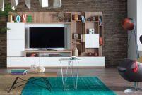 Kardia TV ünitesi dekorasyonunuzu hareketlendiriyor