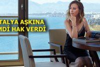 Rus yıldız Kseniya Sobçak fotoğraf çekimini Akra'da yaptı
