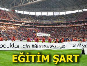 Fenerbahçe -Galatasaray derbisini #BirizBirlikteyiz kazandı