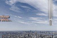 Analemma Tower dünyaya gökten sarkacak
