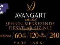 Avangart İstanbul'da stüdyo daireler 417 bin TL'ye