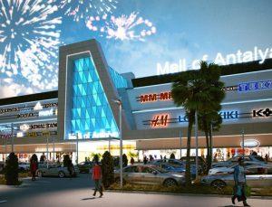 Mall of Antalya AVM açıldı