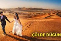 Dubai'de kışın ortasında yaz gelini olun…