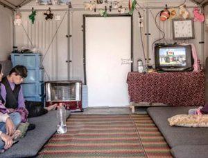 Mülteciler için ev tasarlandı