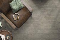 Kalebodur, Juutan'la kumaşın çizgili efektini seramiğe taşıdı
