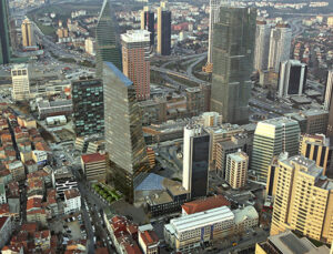İstanbul'daki A sınıfı ofis arzı 500 bin metrekare arttı