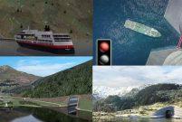 Norveç'teki Stad Tüneli deniz ulaşımında kullanılacak