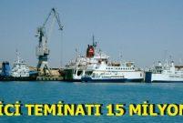 Taşucu Limanı 36 yıllığına özelleştiriliyor