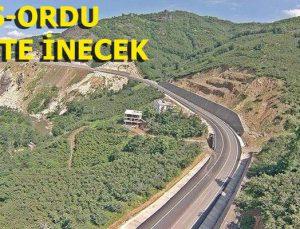 Karadeniz-Akdeniz Yolu'nun ikinci etabı tamamlanıyor