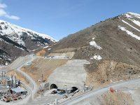 Giresun ile Sivas arasındaki Eğribel Tüneli yarılandı
