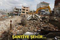 İstanbul'un yarım asırlık binaları birer birer yıkılıyor