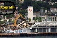 Galatasaray Adası'ndaki kaçak yapılaşma yıkıldı