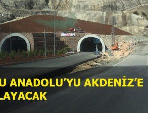 Erkenek Tüneli yarın açılıyor
