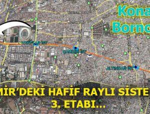Konak'la Bornova arasına Halkapınar – Otogar Metrosu geliyor