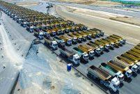 Yeni Havalimanı 1453 kamyon ile İstanbul'u selamladı