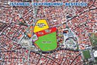 Emlak Konut Zeytinburnu Beştelsiz Arsası'nı ihaleye çıkarıyor