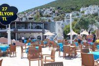 Savur Bodrum Resort Otel 27 milyon TL'ye icradan satılık