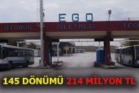 Ankara EGO'nun 3. Bölge Müdürlüğü satılıyor