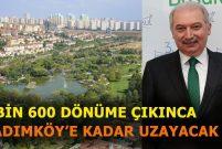 Mevlüt Uysal: Bahçeşehir Göleti'ni 9 kat büyüteceğiz
