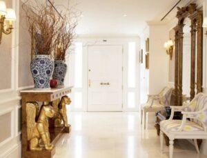 Benzersiz bir antre ve koridor için dekorasyon fikirleri