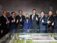 Esta, Mercedes'in Rusya'daki fabrikasında temeli attı