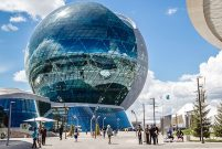 Kazakistan Expo 2017'ye Sembol İnşaat damga vurdu