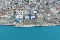 Galataport'ta yıkım işlemi büyük ölçüde tamamlandı