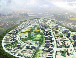 Bahçeşehir-Bahçekent'te 20 yeni proje yükseliyor