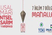 TOKİ ve Emlak Konut GYO kentsel tasarım yarışması düzenliyor