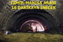 Sabuncubeli Tüneli'nde ışık 9 Eylül'de görünecek