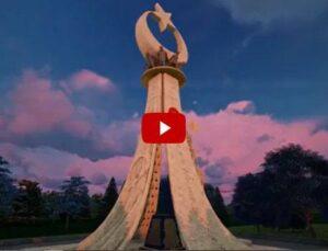 Ankara Beştepe'ye yapılan 15 Temmuz Milli İrade Anıtı…