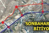 Bağlıca Sabancı Bulvarı'na 5 km.lik can damarı yapılıyor