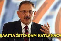 Mehmet Özhaseki: Kentsel dönüşüm 50 milyar dolar doğuracak