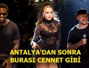 Hadise PanoraPark Konserleri'nin açılışında Ankara'yı salladı