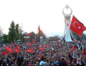 Beştepe'deki 15 Temmuz Şehitler Abidesi açıldı