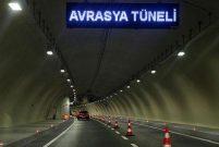 Avrasya Tüneli dolu yağışı sonrası yeniden trafiğe açıldı