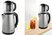 Bosch çay makinesi ile yazın sıcağına karşı buzlu çay keyfi