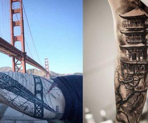 Mimari estetikten ilham alınarak yapılmış 24 harika dövme