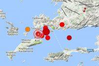 Muğla'da 6.3 büyüklüğünde deprem