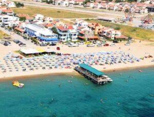 Enez sahilinde emlak değerleri 3 kat arttı