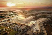 Yeni Havalimanı'nda toplu ulaşım deneme seferleri başladı