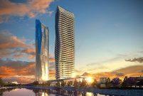 Mistral Towers rezidans ve ve otel bloğuna iskan aldı