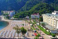 Muğla Munamar Beach Otel'in kiracıları tahliye edildi