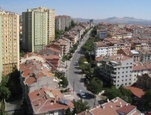 Ankara'da 23 bin metrekare alan 5 yıllığına kiraya verilecek