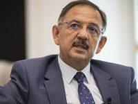 Mehmet Özhaseki: Yapacağımız yapılar 200 sene yıkılmayacak