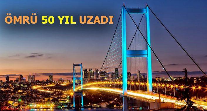 15 Temmuz Şehitler Köprüsü 9 yıllık tadilatla yenilendi