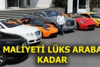 Ali Ağaoğlu'nun arabalarına 700 bin TL'lik dolu çarptı