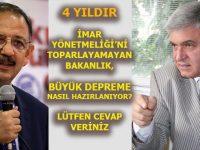 Ahmet Vefik Alp'ten Bakan Mehmet Özhaseki'ye sitayiş!