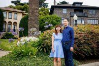 Milyon dolarlık evlerin bulunduğu caddeyi satın aldılar