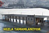 Karaköy Şehir Hatları Vapur İskelesi'nin % 35'i tamamlandı
